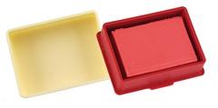 Ластик-клячка SUPER EXTRA SOFT 6426, красный, пластик.футляр