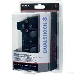 Беспроводной контроллер DualShock 3 (черный, под оригинал - точная копия)