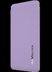 Портативное зарядное устройство ReVolter 5000 Power Bank Сиреневый