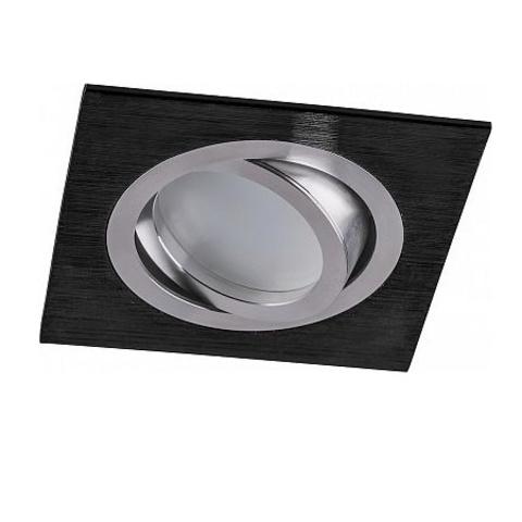 Встраиваемый поворотный светильник Feron DL2801 MR16 G5.3 черный