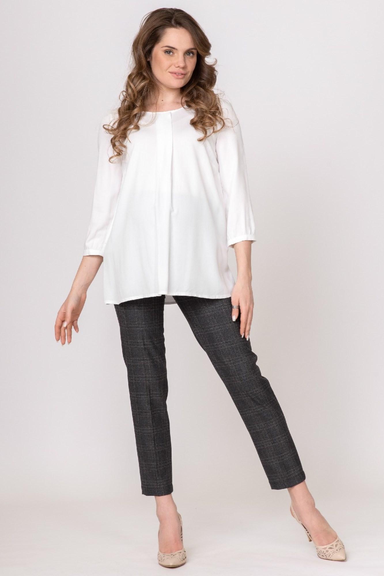 Блузка для беременных 01401 белый