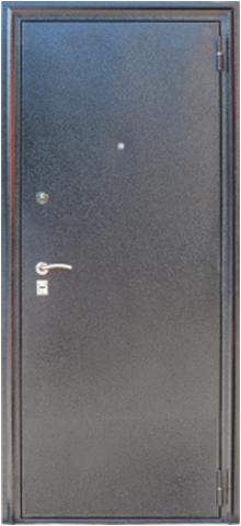 Дверь входная Z-4 стальная, венге, 2 замка, фабрика Арсенал
