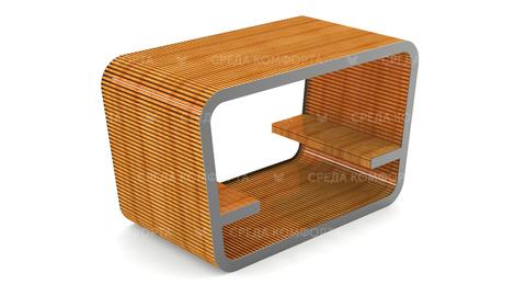 Скамейка с навесом марка