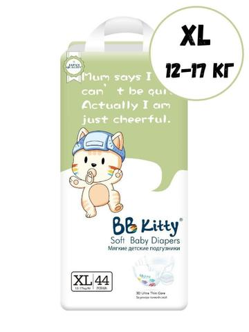 Подгузники XL44 шт 12-17 кг BB Kitty