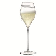 Набор из 2 бокалов для шампанского Signature Verso Tulip 370 мл, фото 3