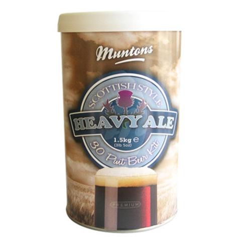 Солодовый экстракт Muntons Premium Scotish Style Heavy Ale 1,5 кг