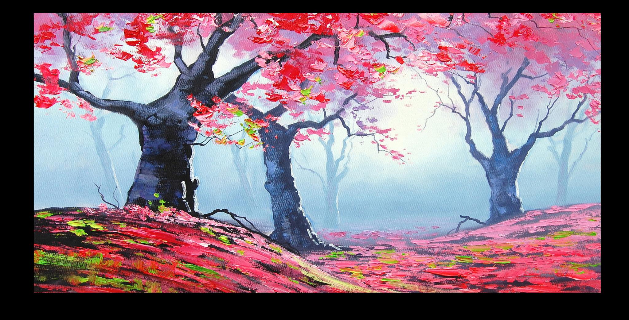 """Постеры Постер """"Клен в лесу"""" п159.png"""