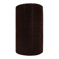 Коврик-дорожка ТРАВКА, темно-коричневый, на противоскользящей  основе, 0,90*15 м