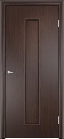 Дверь Верда С-21, цвет венге, глухая