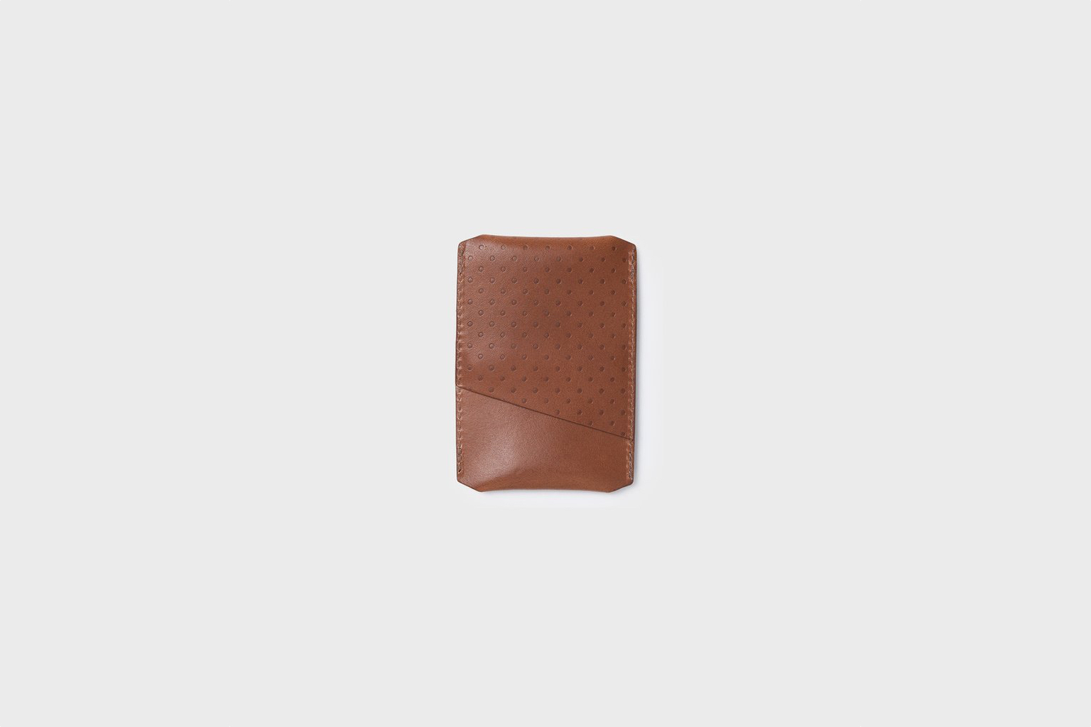 Campbell Cole Simple Card Holder Tan