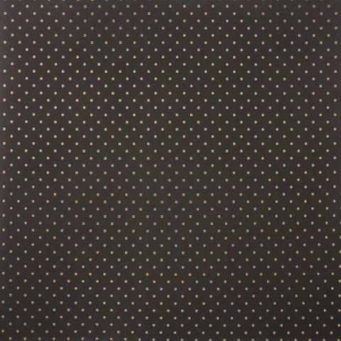 Бумага для скрапбукинга с фольгированием «Точка», 30.5 × 30.5 см, 250 г/м