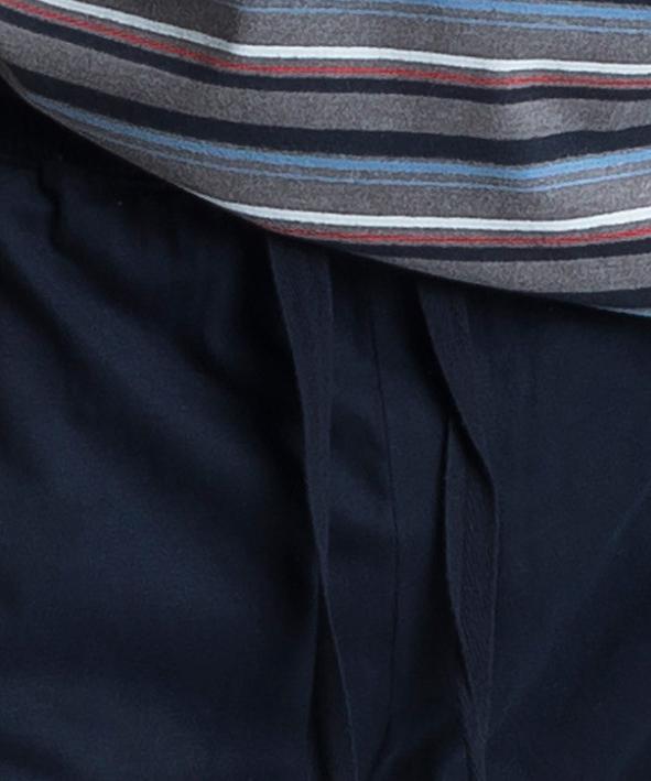 Пижама мужская с брюками NMP-345 100% хлопок SZM