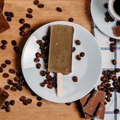 Мороженое-смузи *Колд-брю кофе с цедрой лимона и шоколадом* / 70 гр