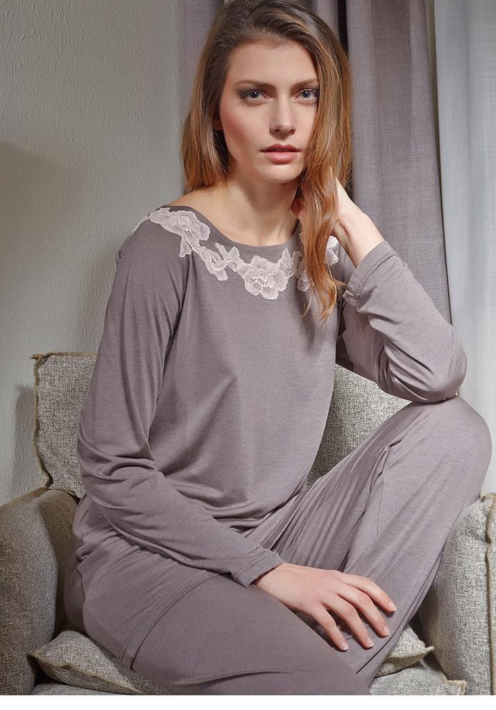 Свободная женская пижама Verdiani