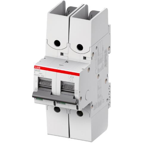 Автоматический выключатель 2-полюсный 125 А, тип UCK, 25 кА S802S-UCK125-R. ABB. 2CCS862002R1647