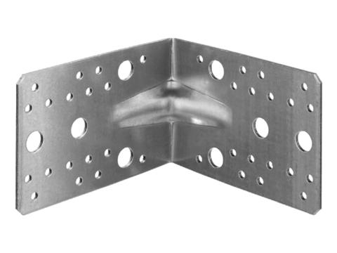 Уголок крепежный усиленный УКУ-2.5, 90х130х130 х 2.5мм, ЗУБР