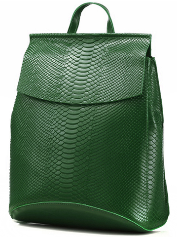 Рюкзак женский JMD Snake 3204 Зеленый