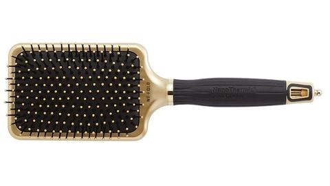 Щетка для волос NanoThermic GOLD широкая