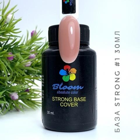 База Bloom Strong жесткая оттенок №1 30 мл