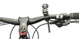 Крепление SP Connect SP Universal Bike Mount на руле вид спереди