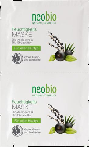 Hydrating Mask /УВЛАЖНЯЮЩАЯ МАСКА ДЛЯ ЛИЦА 2 x 7,5 мл ( NEOBIO )