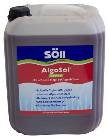 AlgoSol forte 10 л - Средство против водорослей усиленного действия