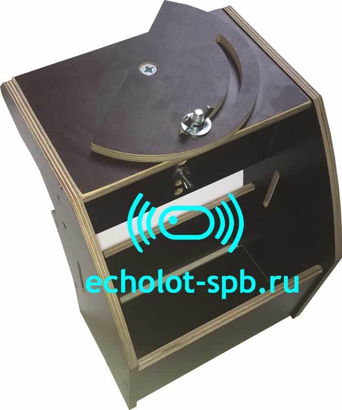 Столик для эхолота под АКБ 18АЧ с поворотной площадкой