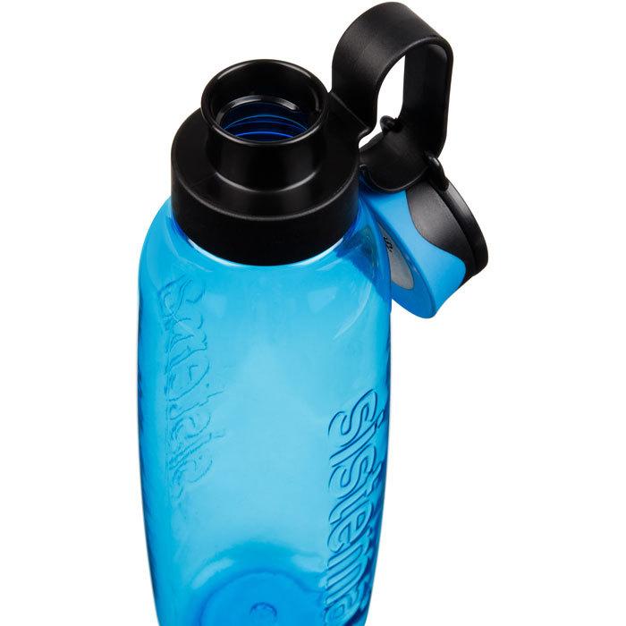 """Бутылка для воды с петелькой Sistema """"Hydrate"""", Тритан, 850 мл, цвет Синий"""