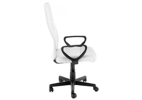 Офисное кресло для персонала и руководителя Компьютерное Favor белое 58*58*103 Черный /Белый