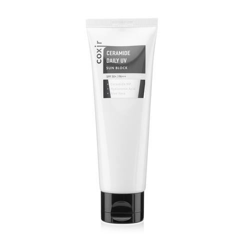 Coxir Ceramide Daily Uv Sun Block Spf50+ Pa+++ ежедневный солнцезащитный крем с керамидами для сухой и нормальной кожи