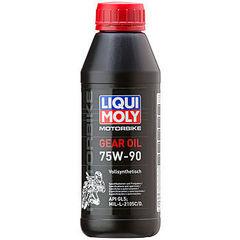 7589 LiquiMoly Синт.тр.масло д/мотоц. Motorrad Gear Oil 75W-90 (GL-5) (0,5л)