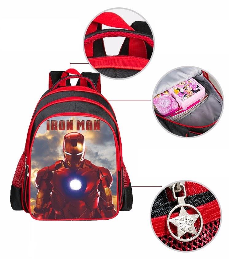 Рюкзак школьный Железный человек