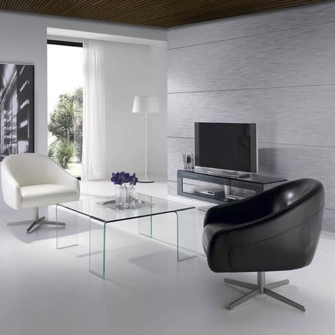 Кресло A729 белое искусственная кожа