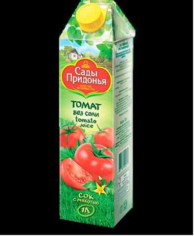 """Сок """"Сады Придонья"""" томатный с солью 1л"""