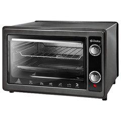 Мини печь | Духовка электрическая 1300 Вт 37 л DELTA D-0122 черная