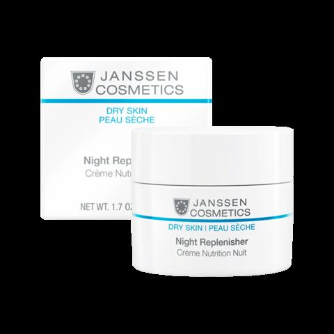 JANSSEN | Питательный ночной регенерирующий крем/ Night Replenisher, (50 мл)
