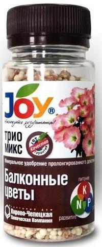 Трио микс для балконных цветов 100г, JOY