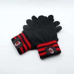 Перчатки с логотипом ФК Милан (ACM) черные