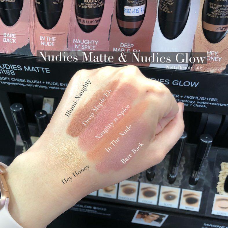 NUDESTIX Nudies Matte Blush & Bronze