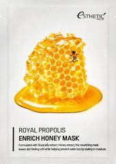 Тканевая маска для лица МЕД/ПРОПОЛИС Royal Propolis Enrich Honey Mask, 25 мл* 5шт ESTHETIC HOUSE