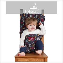 Totseat (Тотсит) дорожный стульчик для кормления алфавит