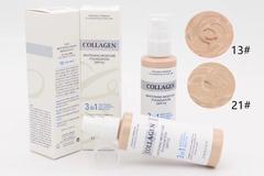 Тональная основа с осветляющим эффектом и коллагеном Enough Collagen Whitening Moisture Foundation SPF 15