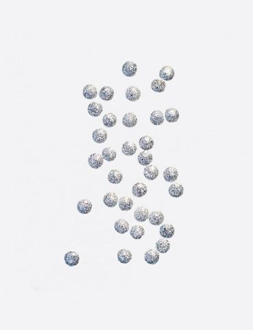 ARTEX Полусферы круглые шлифованные серебро 2 мм