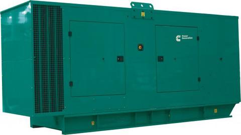 Дизельный генератор Cummins C500D5 в кожухе