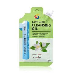 Масло гидрофильное Eyenlip Easy Herb Cleansing Oil  с экстрактами трав 20 гр