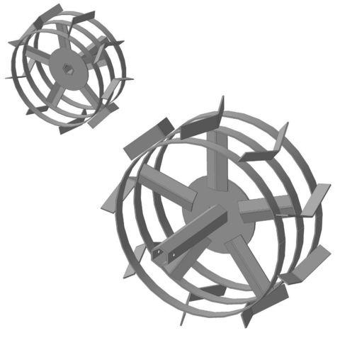 Грунтозацепы Forza шестигранник S-32 усиленная спица
