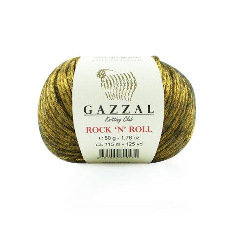 Пряжа Gazzal Rock n Roll 13900 золото