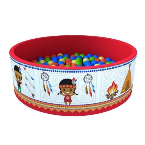 Сухой бассейн с шариками «Индейцы» ДМФ-МК-02.52.01