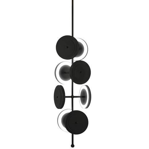 Потолочный светильник копия Le Royer by Larose Guyon (черный)