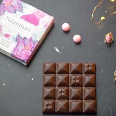 Шоколад Nilambari молочный на кешью